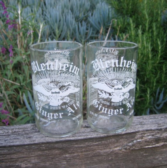 Blenheim Ginger Ale glass