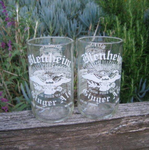Blenheim Ginger Ale glass